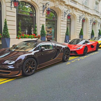 Ultimate supercars