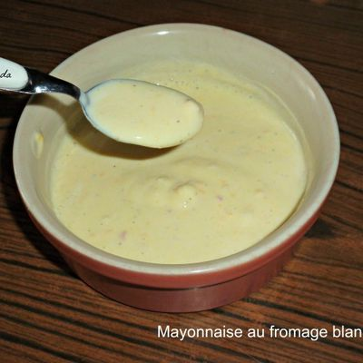Mayonnaise au fromage blanc