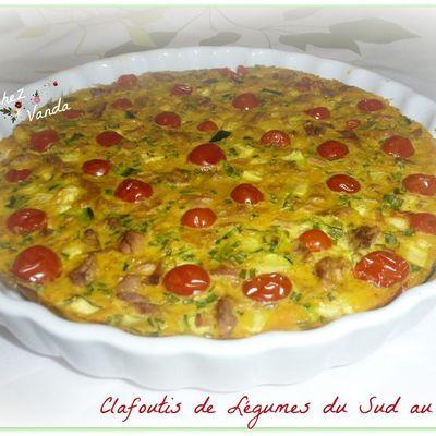 Clafoutis de légumes du sud au thon