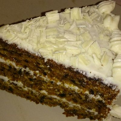 Carrot Cake extra moelleux au Thermomix