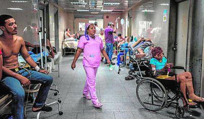 El 76% de los hospitales de Venezuela se queda sin medicinas básicas