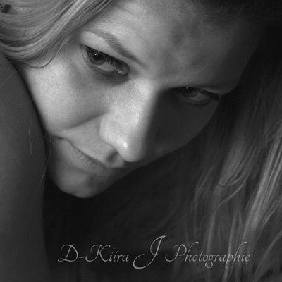 Elodie Portrait noir et blanc