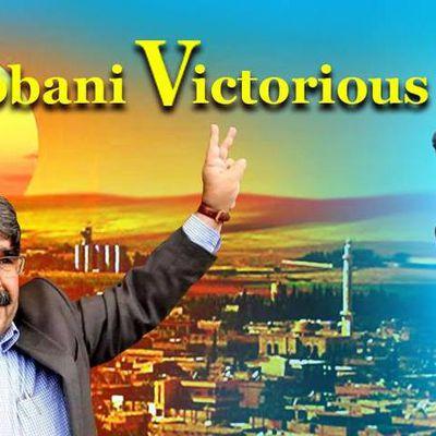 WIDERSTAND in KOBANI gegen ISIS