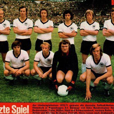 Historische Fußball Mannschafts Fotos