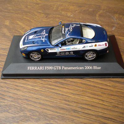 599 GTB Panamerican Bleu