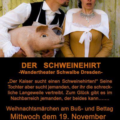 """Theater """"Der Schweinehirt"""" 19 November"""