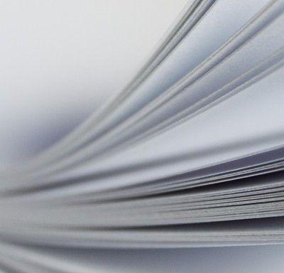 Papeles que se utilizan en trabajos de Imprenta