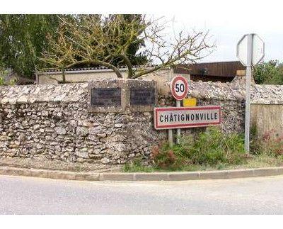 Châtignonville, Essonne, 2 plaques