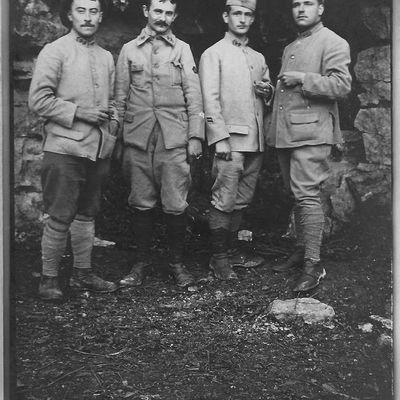 Journal du 12 au 26 septembre 1916 - Avec mes amis, mes poilus !