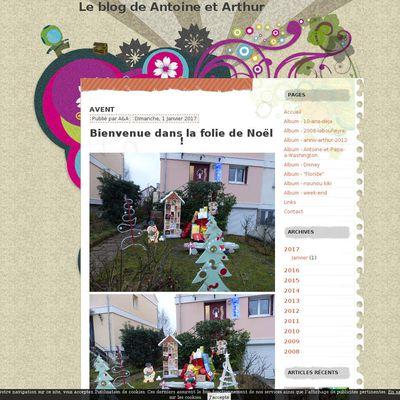 Le blog de Antoine et Arthur