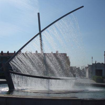 FUENTE DE LA ACTIVIDAD MARINERA. Paseo Marítimo Valencia