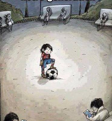 Humour Enfants: Jeux video vs football, solo vs collectif