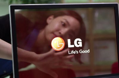 Transparent OLED from LG-Display 2014