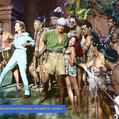 Jim della giungla (jungle Jim) creato da  Alex Raymond con Johnny Weissmuller