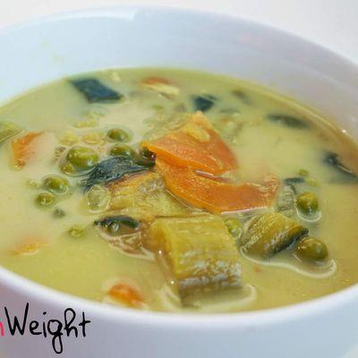 Soupe au curry WW