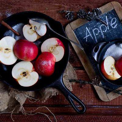 Secrets de beautés de la pomme