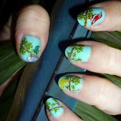 nail art exotique