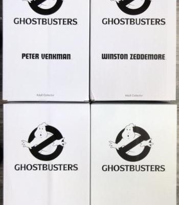 """GHOSTBUSTERS : LES 12"""" BY MATTEL"""