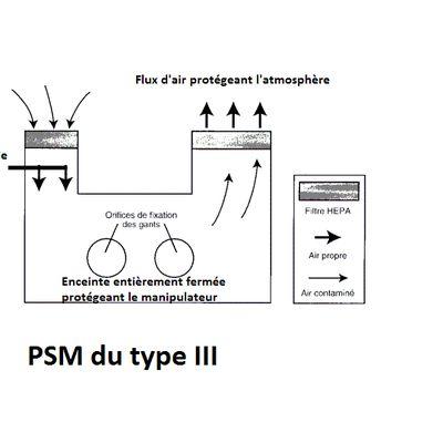 Les postes de sécurité microbiologique (PSM)