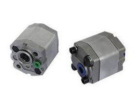 1.1~5.8ml/r Mini Hydraulic Gear Pumps CBT-F2