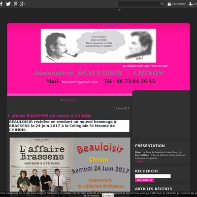 Le blog de beauloisir.over-blog.com