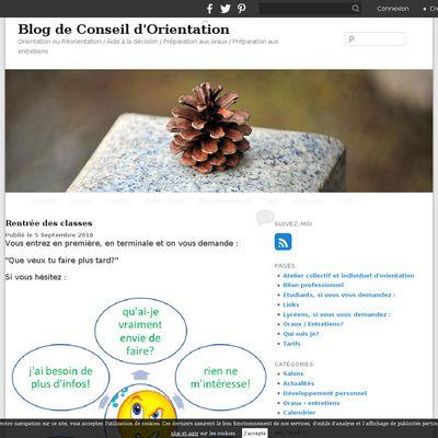 Blog de Conseil d'Orientation