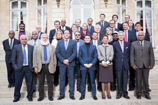 Déclaration du Groupe UC-FLNKS et Nationalistes Comité des signataires, jeudi 4 février 2016, Paris,  Hôtel Matignon