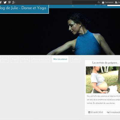 Le blog de Julie - Danse et Yoga