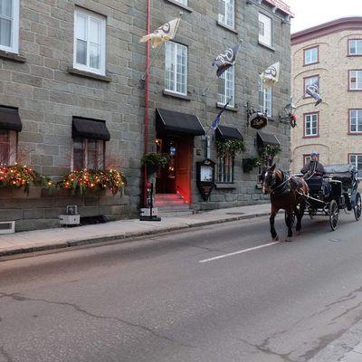 Le marché de noël de Québec City