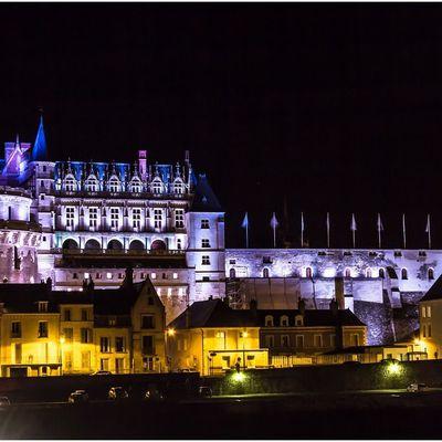 Photos de nuit Château D'amboise