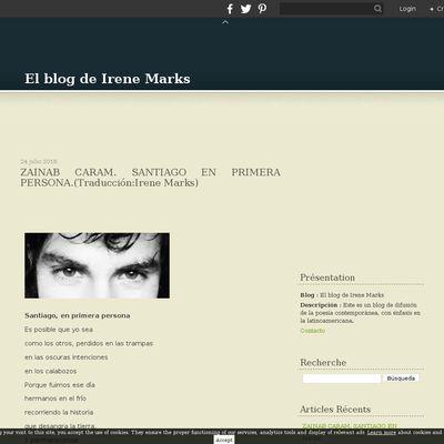 El blog de Irene Marks