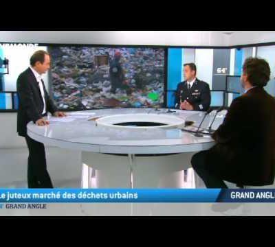Débat autour des déchets Européens sur la TV française à voir suite à la presse conférence de la ministre des poubelles.
