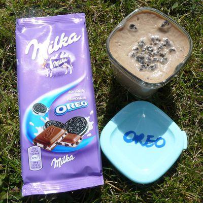 Crème au chocolat Milka Oreo à la MD
