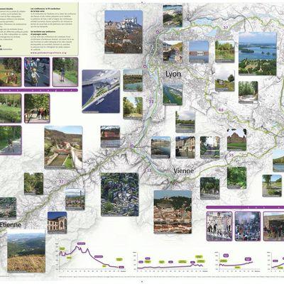 Projet de 270 Km de voies vertes passant par St-Chamond