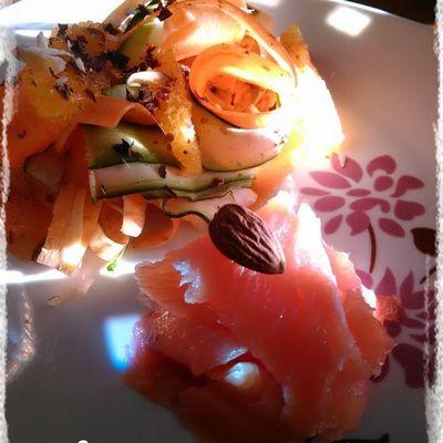 Tagliatelle de saumon pour le concours de Poivré Seb