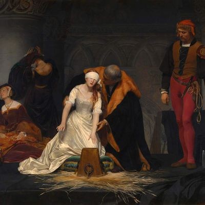 Le Supplice de Jane Grey , 1853