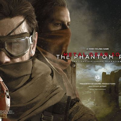 Metal Gear Solid V The Phantom Pain: une console collector