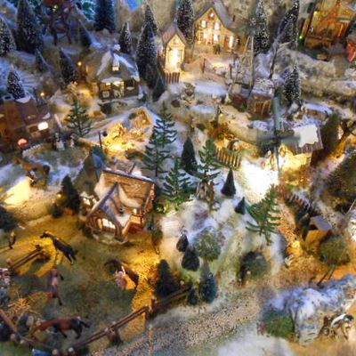 Les villages miniatures de Noël de Lalie