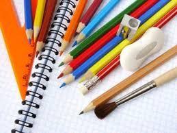 Penne e oggetti da ufficio