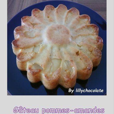 Gâteau pommes-amandes