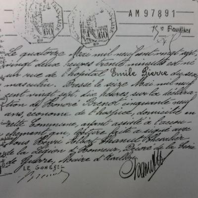 Archives du Conseil Général d'Auxerre...