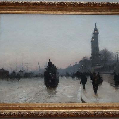 """Quais de Bordeaux"" par Alfred Smith..."