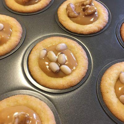 Tartelettes au caramel (les krumchy de Michalak)