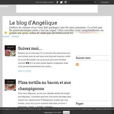 Le blog d'Angélique