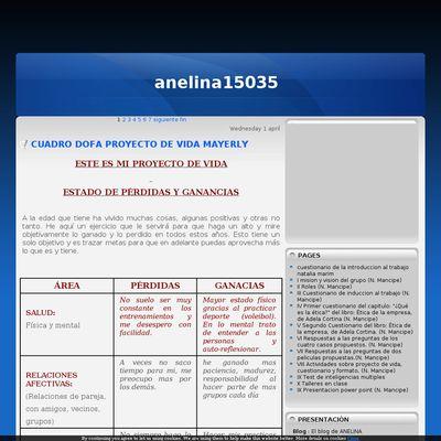 El blog de ANELINA