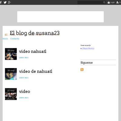 El blog de susana23