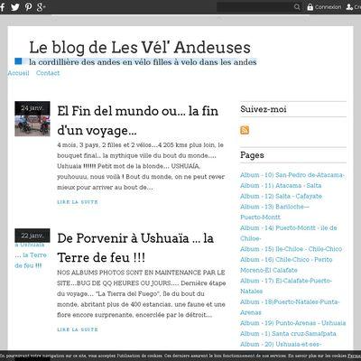 Le blog de Les Vél' Andeuses