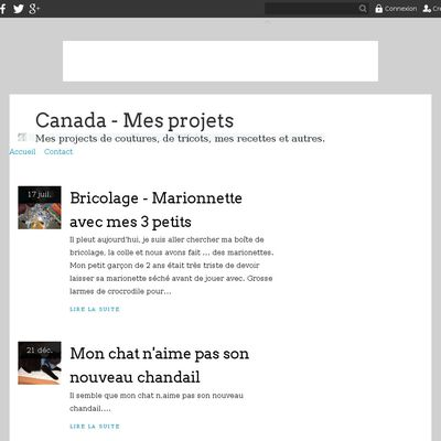 Canada - Mes projets