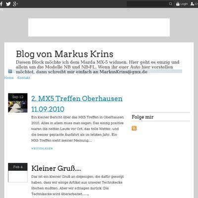 Blog von Markus Krins
