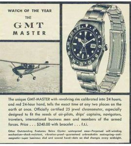 Watch of the year : Rolex GMT Master
